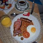 Full Scottish Breakfast at Bruce Hotel-1