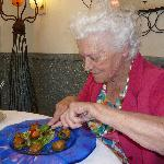  92 ans et bon appetit