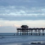 COCOA BEACH PIER FROM OUR BEACH