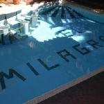 pool by reception