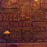  Detail of the wall mural in the REception.