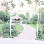 Gazebo Chapel at the Flamingo
