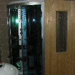 Sauna/Steam shower in room