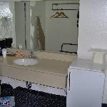 Large Vanity Separate from Bath