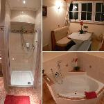 #316 features, lux-shower, dining table, in room jacuzzi