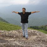 Me at Ponmudi Hill