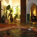 Nighttime at the Riad Fawakay