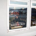 window seats offer the best view of Auke Bay