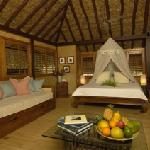 Te Nunoa Bungalow - great bed!