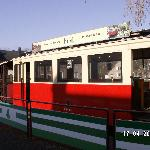 One of the antqiue trams