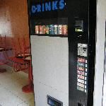 Retro can machine in lobby