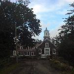 View of the inn as you drive up