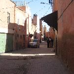 Outside of the Riad