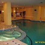 Health spa pool and jacuzzi
