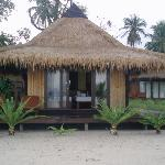 front of our bungalow