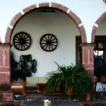 The old hacienda building