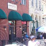 Patio Dining in the Spring- Summer and Fall