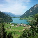  View of Interlaken, Switzerland from Train