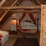 The attic bedroom - used!