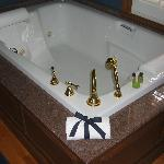  Beautiful and spacious, jacuzzi tub and privacy.