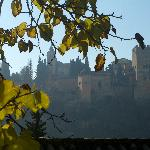  View of Alhambra on a December Day