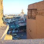 Another roof-top view of Djemaa el-Fna