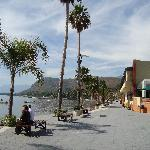 The Malecon in Chapala