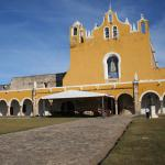 The beautiful church in Izamal