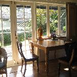 Dining Area in the Garden Suite