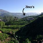 Zina's location