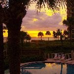 Typical Sunset @ Veranda Beach Longboat Key