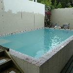  thermally heated pool behind the property