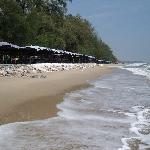 The beach at South Cha Am