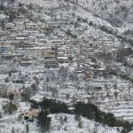 Agros in snow