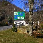 Front Entrance of Motel