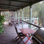 VERANDAH OFF THE GUEST ROOMS