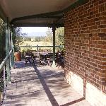  ANOTHER VIEW OF LARGE UNDERCOVER VERANDAH