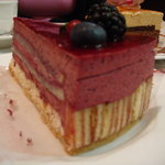 raspberry cake - incredible!