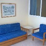 Sitting Area and pull out bed