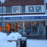 Kiruna Guide Tours - the place where i booked my dogsledge tour.