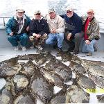 Our halibut catch!  Great Day!