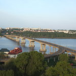 Room with a view of the Volga River