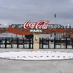 Coca-Cola Park - main entrance