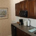 Small Kitchen Area in Parlor Suite