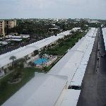 View of the bungalows from Tower 1