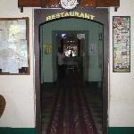 entry into the restaurant