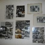Hotel Golfo Anzio - Photos in reception area history of hotel