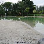 The so-called sand pool