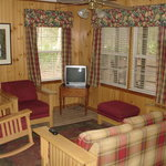 Cabin 6 - Living Room