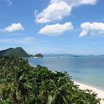 View from the suite at Khanom Golden Beach